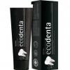 Ecodenta, отбеливающая зубная паста с черным углем и экстрактом зеленого чая, 100 мл