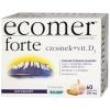 Ecomer Forte, чеснок + витамин D3, 60 капсул