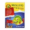 Tran Mollers Omega-3 Рыба, фрукты, 36 штук                                                                 Bestseller
