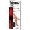 Detramax,стойкие к давлению, подколенные профилактические носки, черный, размер 1/2, пара