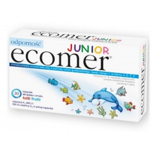 Ecomer Junior, иммунитет, более 3 лет, аромат tutti frutti, 30 жевательных капсул