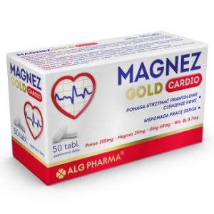 Magnez Gold Cardio, Магний Голд Кардио, 50 таблеток