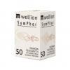 Wellion SymPhar, Тест-полоски для определения уровня глюкозы в крови, 50 шт.