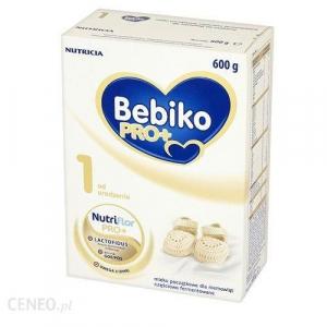Bebiko Pro + 1, начальное молоко с рождения, частично ферментированное, 600 г
