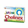 Cholinex Junior, малиновый ароматизатор, 4 года, 16 лепешек