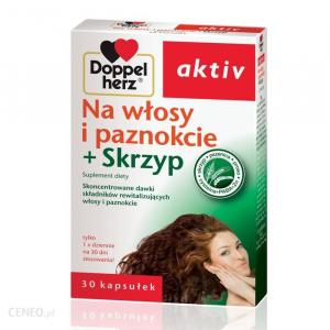 Doppelherz Aktiv волосы и ногти + хвощ, 30 таблеток