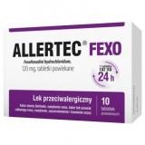 Allertec Fexo 120 мг, 10 таблеток, покрытых пленочной оболочкой                 new