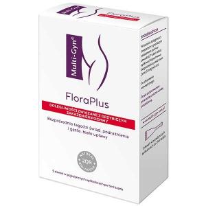 Multi-Gyn, Flora Plus, вагинальный гель, 5 по 5 мл аппликаторы             Bestseller