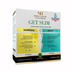 Noble Health Get Slim Утро и Ночь, 84 Таблетки