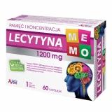 Lecytyna МЕМО 1200 мг, лецитин 60 капсул      избранные