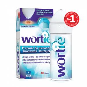 Wortie, препарат для удаления бородавок и кондилом, 50мл