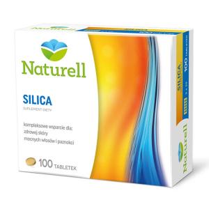 NATURELL,Silica, диоксид кремния, 100 таблеток                                                                 HIT