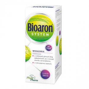 Bioaron, Биоарон Систем (38,4 г + 1,02 г) / 100 мл, сироп для детей от 3 лет, 200 мл