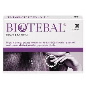 Biotebal 5мг, 30 таблеток                                                                                                               Bestseller