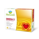 Naturell,Omega-3, 500мг,Омега,120 капсул                                                         Bestseller