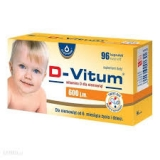 D-Vitum, витамин D для детей от 6 месяцев, 600 J.m, 96 капсул               Bestseller