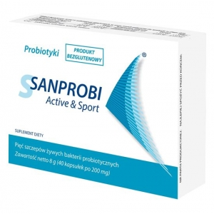 Sanprobi, Active and Sport, 40 kaпсул
