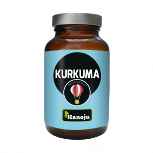 HANOJU, куркума + пиперин, 90 капсул
