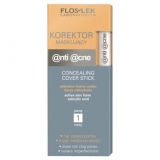 Flos-Lek Anti-Acne, яркий антибактериальный консилер, №1, 1 шт.          популярные