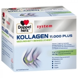Doppelherz system Kollagen  11000 PLUS, ампулы для питья, 30 x 25 мл           NEW