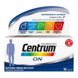 Centrum ON, мультиэффект, 90 таблеток                                           NEW